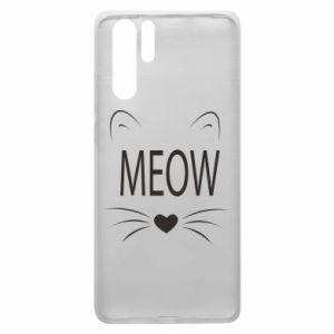 Huawei P30 Pro Case Fluffy Meow