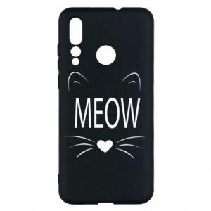 Huawei Nova 4 Case Fluffy Meow