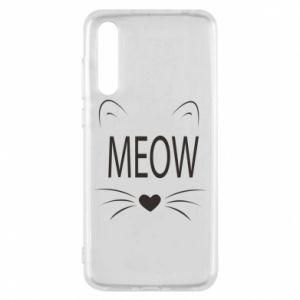 Huawei P20 Pro Case Fluffy Meow
