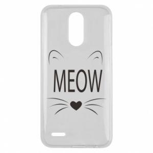 Lg K10 2017 Case Fluffy Meow