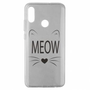 Huawei Honor 10 Lite Case Fluffy Meow