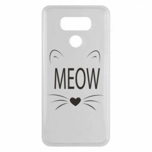 LG G6 Case Fluffy Meow