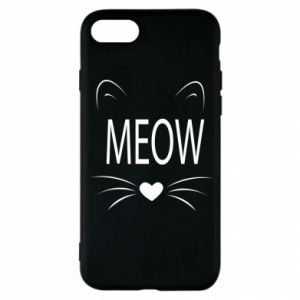iPhone SE 2020 Case Fluffy Meow