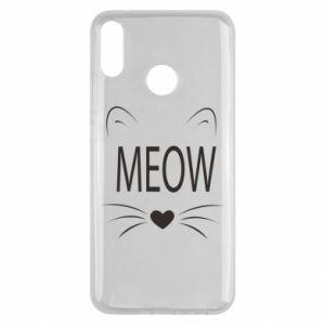 Huawei Y9 2019 Case Fluffy Meow