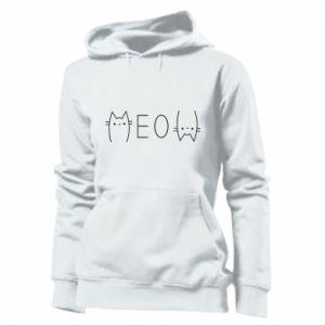 Damska bluza Meow kot - PrintSalon