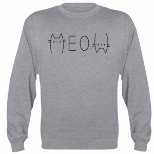 Bluza (raglan) Meow kot - PrintSalon
