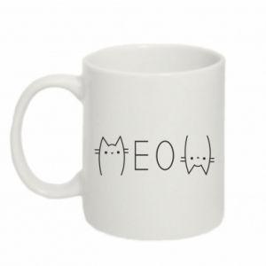 Kubek 330ml Meow kot - PrintSalon