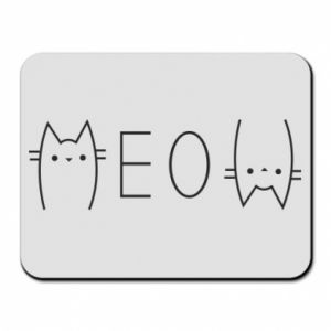 Mouse pad Meow cat