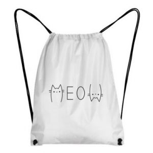 Backpack-bag Meow cat