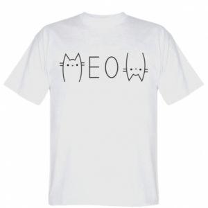 T-shirt Meow cat