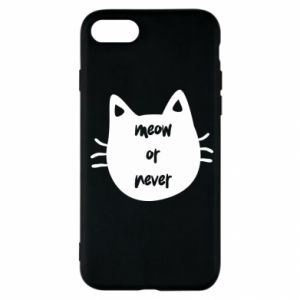 iPhone SE 2020 Case Meow or never