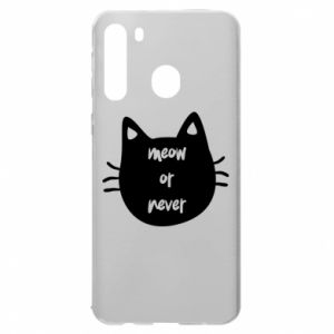 Samsung A21 Case Meow or never