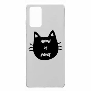 Samsung Note 20 Case Meow or never