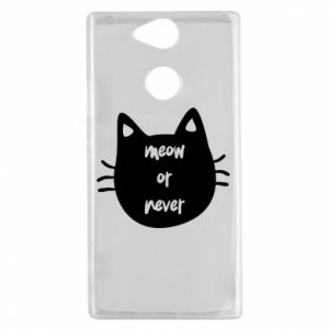 Sony Xperia XA2 Case Meow or never