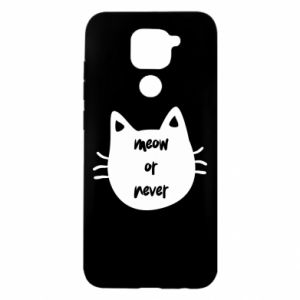 Xiaomi Redmi Note 9 / Redmi 10X case % print% Meow or never