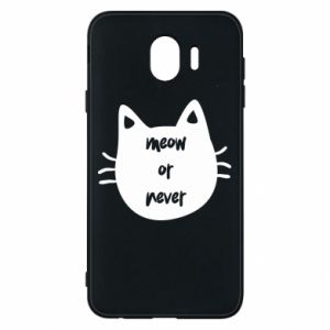 Samsung J4 Case Meow or never