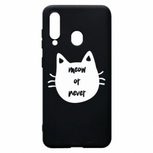 Samsung A60 Case Meow or never