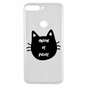 Huawei Y7 Prime 2018 Case Meow or never