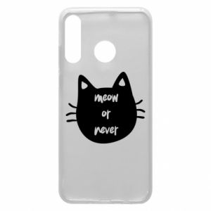 Huawei P30 Lite Case Meow or never