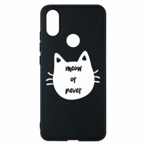 Xiaomi Mi A2 Case Meow or never