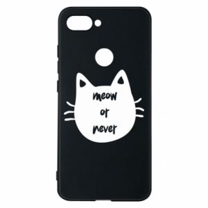 Xiaomi Mi8 Lite Case Meow or never