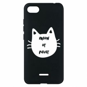 Xiaomi Redmi 6A Case Meow or never