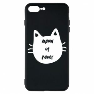 Etui na iPhone 7 Plus Meow or never
