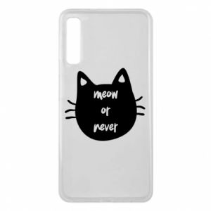 Samsung A7 2018 Case Meow or never