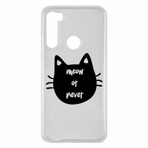 Xiaomi Redmi Note 8 Case Meow or never
