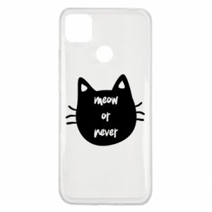 Xiaomi Redmi 9c Case Meow or never