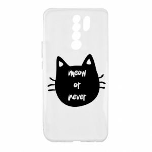 Xiaomi Redmi 9 Case Meow or never