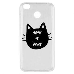Xiaomi Redmi 4X Case Meow or never