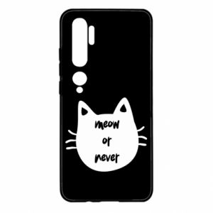 Xiaomi Mi Note 10 Case Meow or never