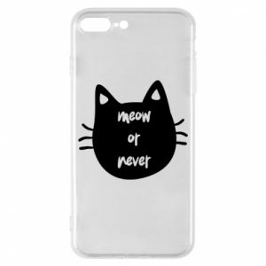 Etui na iPhone 8 Plus Meow or never