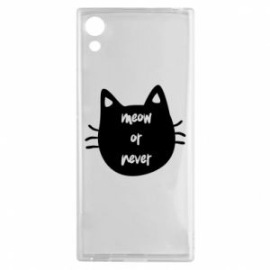 Sony Xperia XA1 Case Meow or never