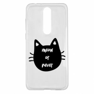 Nokia 5.1 Plus Case Meow or never