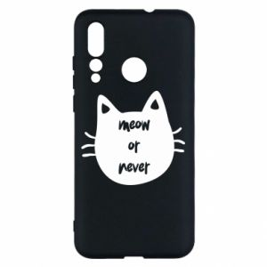 Huawei Nova 4 Case Meow or never