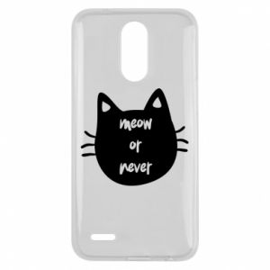 Lg K10 2017 Case Meow or never