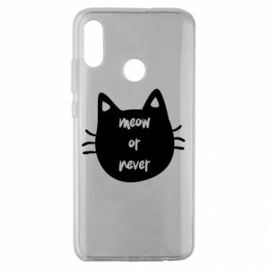 Huawei Honor 10 Lite Case Meow or never