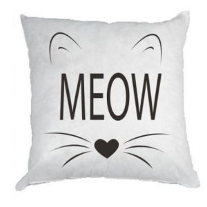 Pillow Fluffy Meow