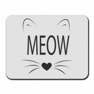 Mouse pad Fluffy Meow