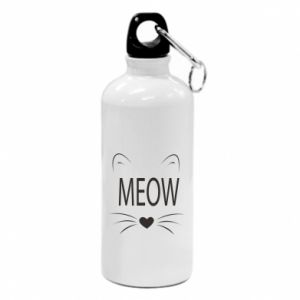 Water bottle Fluffy Meow