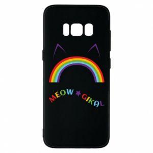 Etui na Samsung S8 Meowgikal