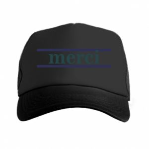 Czapka trucker Merci