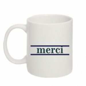 Kubek 330ml Merci