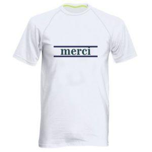 Koszulka sportowa męska Merci