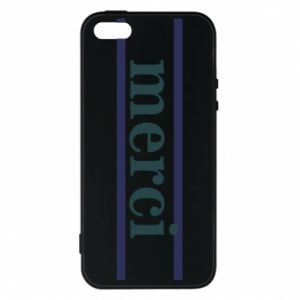 Etui na iPhone 5/5S/SE Merci