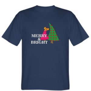 T-shirt Merry and Bright