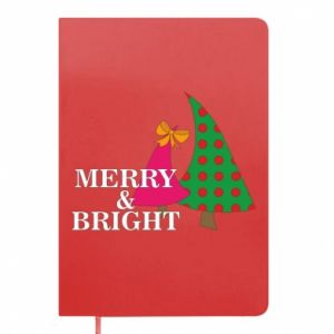 Notepad Merry and Bright