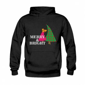 Kid's hoodie Merry and Bright